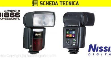 Scheda Tecnica Flash Nissin Di866 MARK II