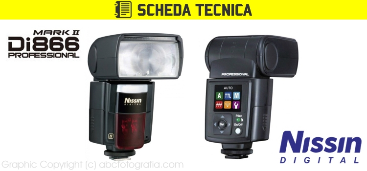 Scheda Tecnica Flash Nissin Di866 MARK II