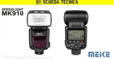 Scheda Tecnica Flash Meike MK910