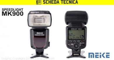 Scheda Tecnica Flash Meike MK900