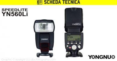 Scheda Tecnica Flash Yongnuo YN560Li