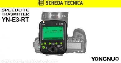 Scheda Tecnica Trigger Yongnuo YN-E3-RT
