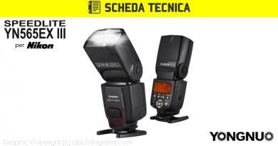 Scheda Tecnica Flash Yongnuo YN565EX III Nikon