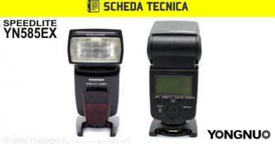 Scheda Tecnica Flash Yongnuo YN585EX Pentax