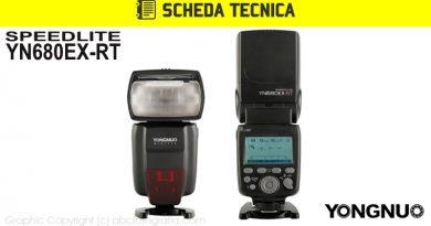 Scheda Tecnica Flash Yongnuo YN680EX-RT