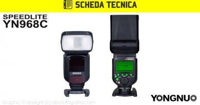 Scheda Tecnica Flash Yongnuo YN968C