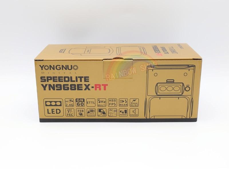 Yongnuo YN968EX-RT Flash da Slitta con Faretto LED per Canon Eos
