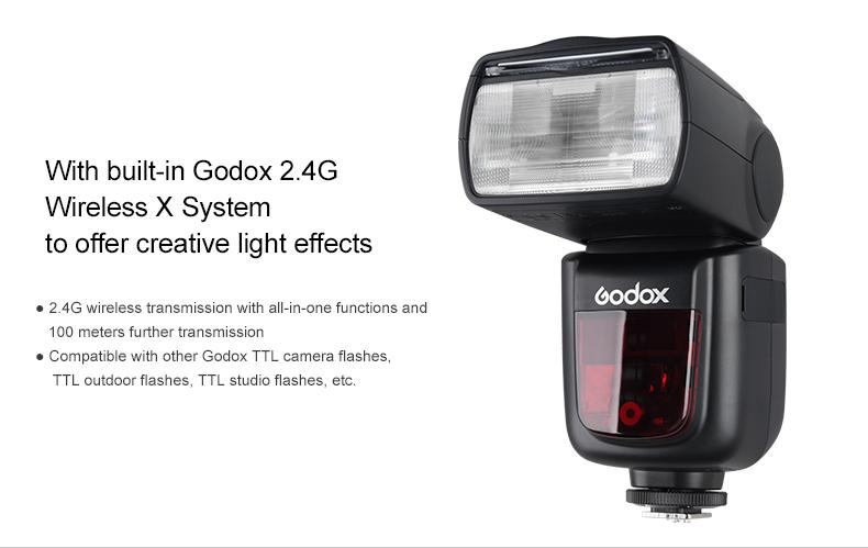 Scheda Tecnica Flash Godox V860II per Fujifilm (V860IIF)