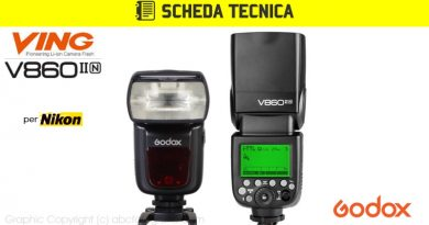 Scheda Tecnica Flash Godox V860II per Nikon (V860IIN)