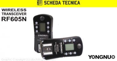 Scheda Tecnica Trigger Yongnuo RF605N (RF-605 per Nikon)