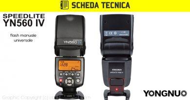 Scheda Tecnica Flash Yongnuo YN560 IV