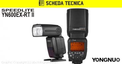 Scheda Tecnica Flash Yongnuo YN600EX-RT II