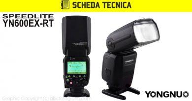 Scheda Tecnica Flash Yongnuo YN600EX-RT