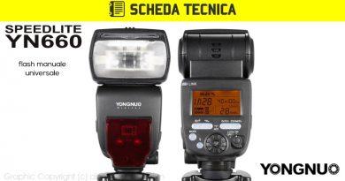 Scheda Tecnica Flash Yongnuo YN660