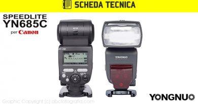 Scheda Tecnica Flash Yongnuo YN685C