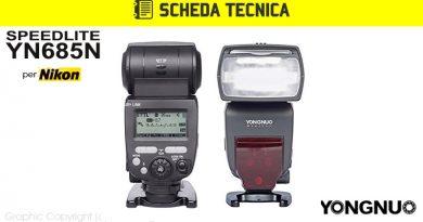 Scheda Tecnica Flash Yongnuo YN685N