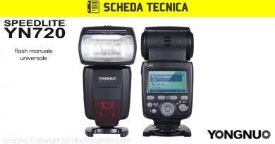 Scheda Tecnica Flash Yongnuo YN720