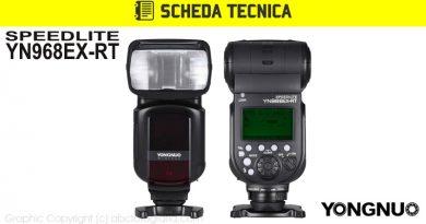 Scheda Tecnica Flash Yongnuo YN968EX-RT