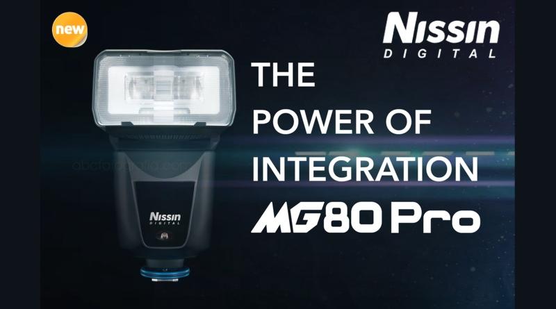 Nissin annuncia il nuovo flash MG80 Pro