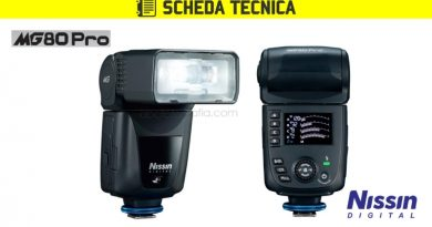 Scheda Tecnica Flash Nissin MG80 Pro