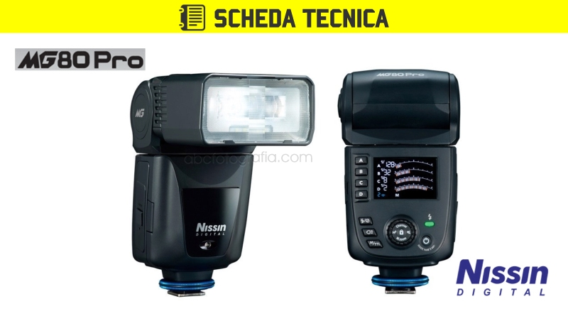 Scheda Tecnica Flash Nissin MG80 Pro