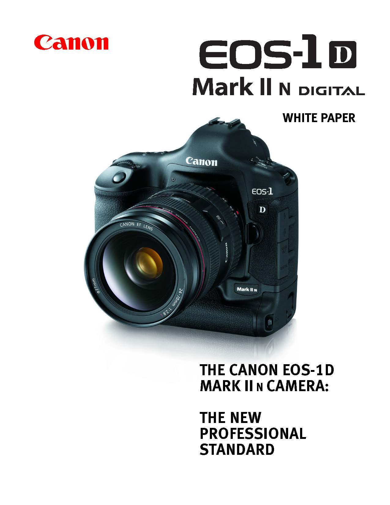 Canon Eos-1D Mark II N White Paper (Inglese)