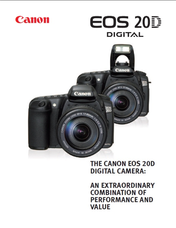Canon Eos 20D White Paper