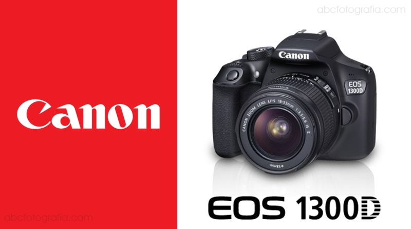 Scheda Tecnica Fotocamera Canon EOS 1300D