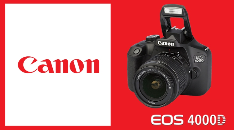 Scheda Tecnica Fotocamera Canon EOS 4000D