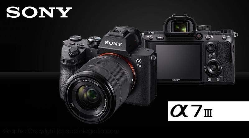 Scheda Tecnica Fotocamera Sony A7 III (ILCE-7M3)