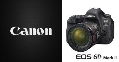 Scheda Tecnica Fotocamera Canon EOS 6D Mark II