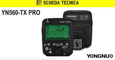 Scheda Tecnica Trigger Yongnuo YN560-TX Pro
